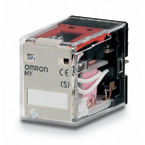 S Plug In Relay 240Vac Square Omron My4-Ac220//240 14 Pins Standards: Ul508