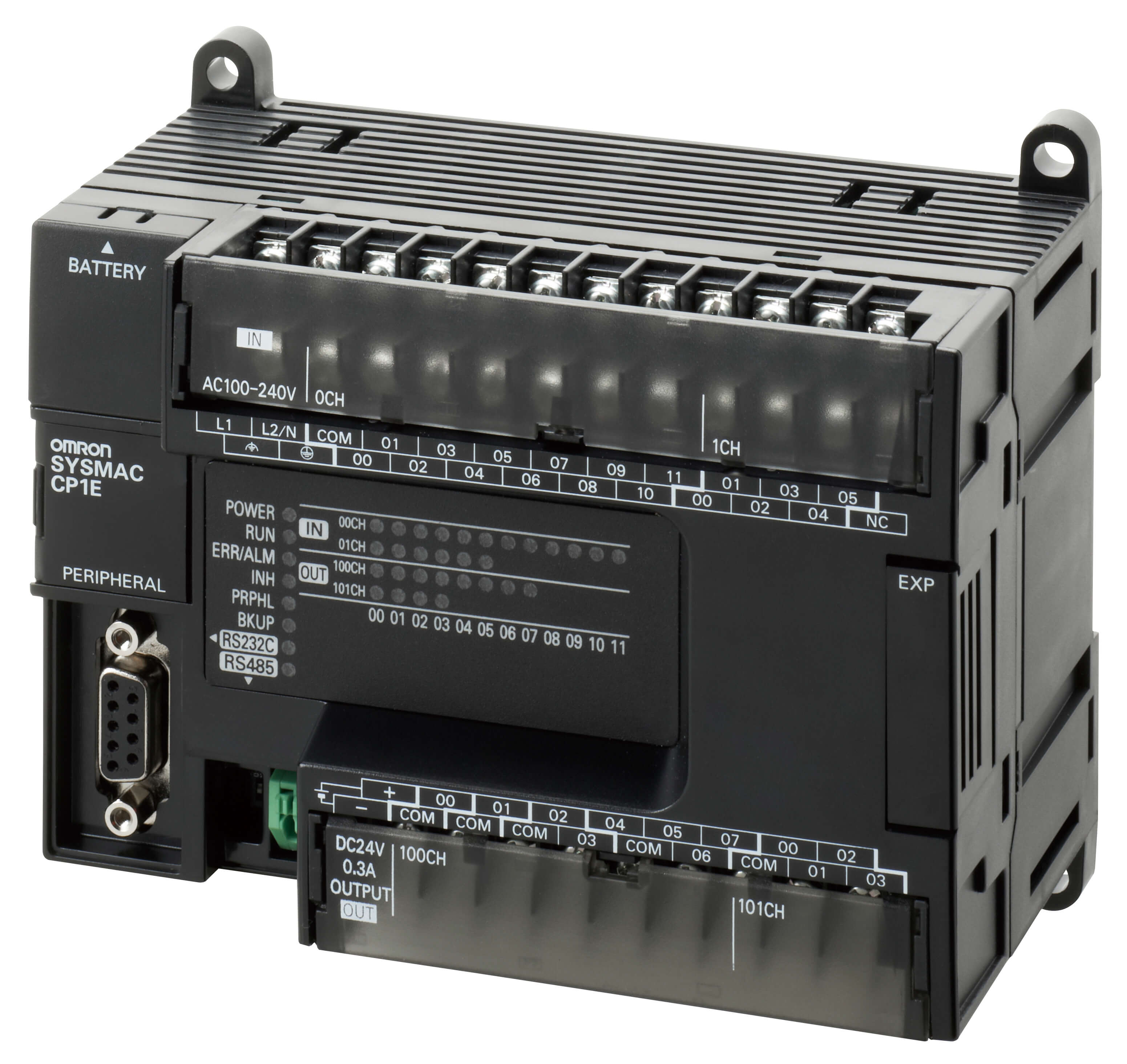 OMRON Programmable Logic Controller CP1E-N30DR-A CONTROL LOG 30 I//O 100-240VAC