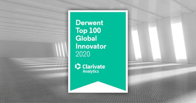 derwent top 100 global innovator 2020 banners fcard logo