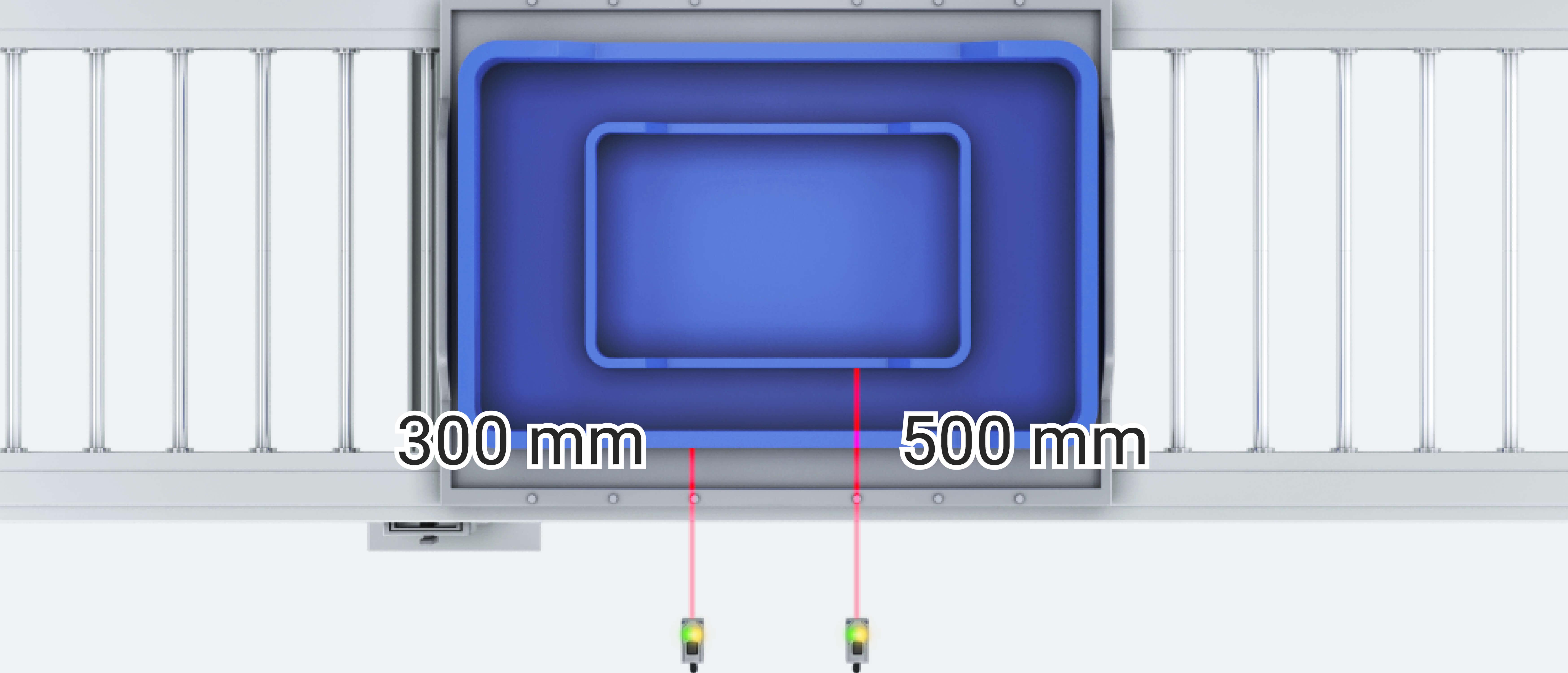 e3as wide sensing range banner sol