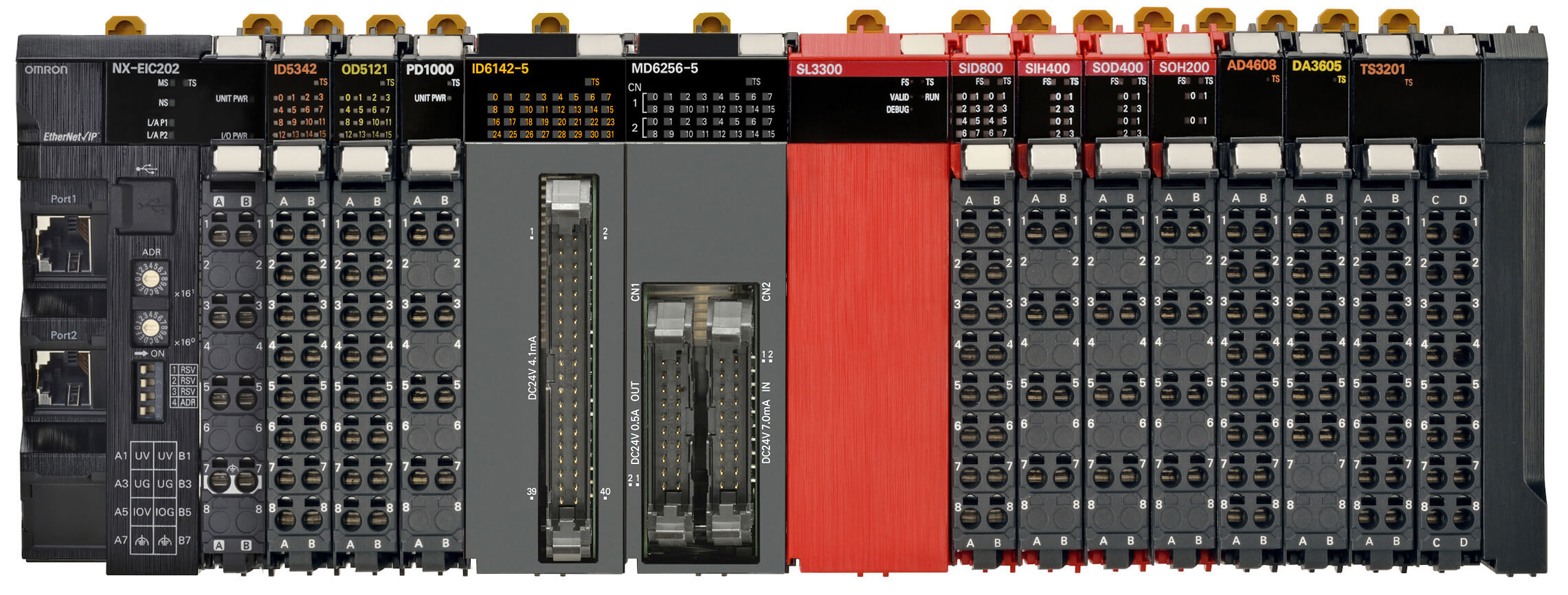 NX-series I/O now also connects to EtherNet/IP   Omron, Europe