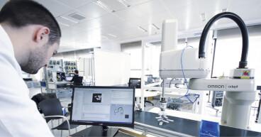 engineer robot adept services fcard sol