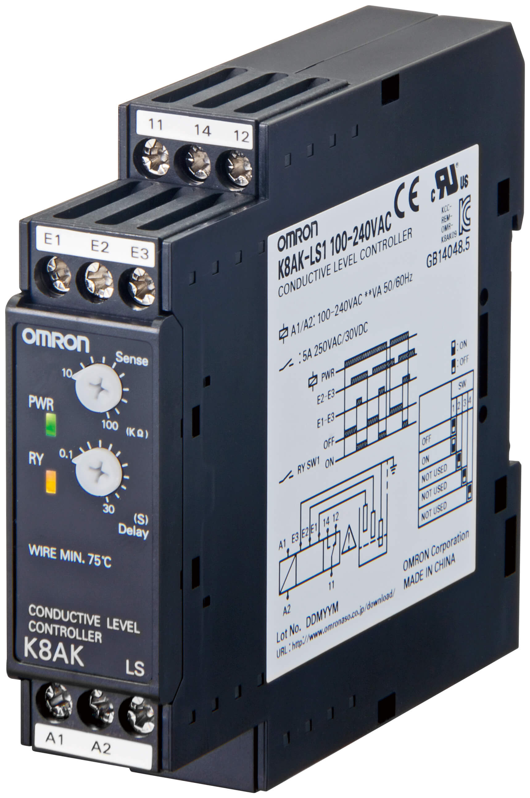 Wiring Diagram Water Level Control Omron : Omron water level controller relay ready remote start