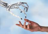 omron collaborative robot human hand prod