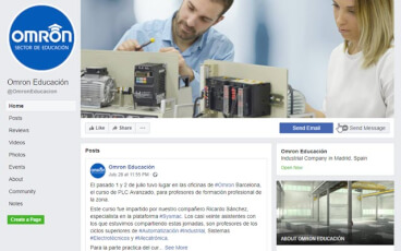 omron educational facebook fcard misc