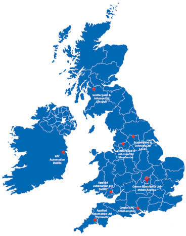 UK Regional Training Centres