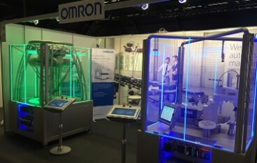 vision robotics motion fair stand event